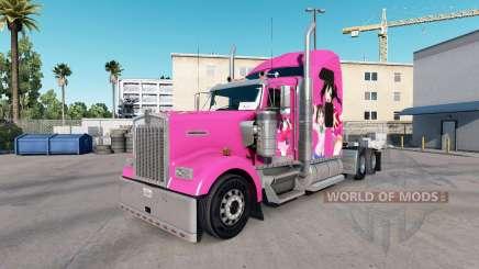 Pele Nico no caminhão Kenworth W900 para American Truck Simulator