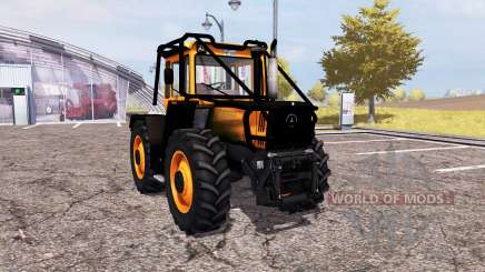 Mercedes-Benz Trac 1600 Turbo forest para Farming Simulator 2013