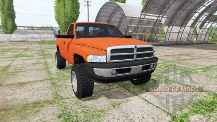 Dodge Ram 2500 Regular Cab 1994 v3.0 para Farming Simulator 2017