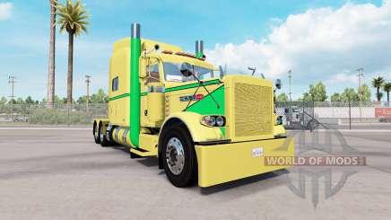 Pele Amarela, Verde para o caminhão Peterbilt 389 para American Truck Simulator