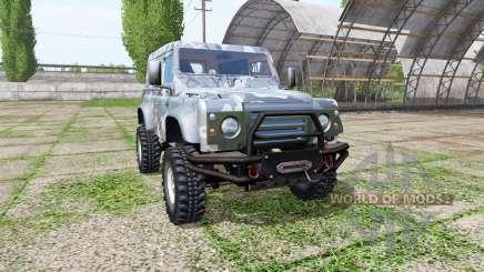 Land Rover Defender 90 para Farming Simulator 2017