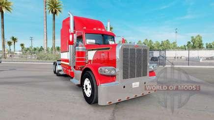 Dragão vermelho de pele para o caminhão Peterbilt 389 para American Truck Simulator