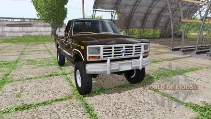 Ford F-150 1985 para Farming Simulator 2017