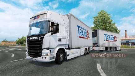 Tandem truck traffic v1.5 para Euro Truck Simulator 2