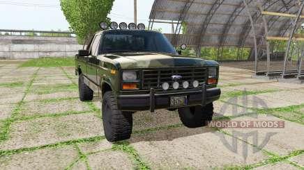 Ford F-150 Ranger 1984 para Farming Simulator 2017
