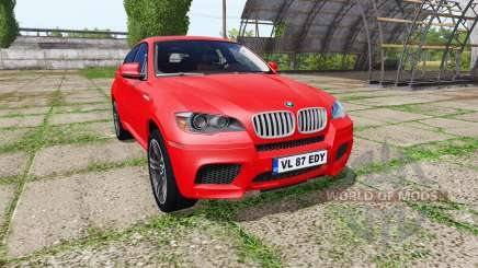 BMW X6 M (E71) para Farming Simulator 2017