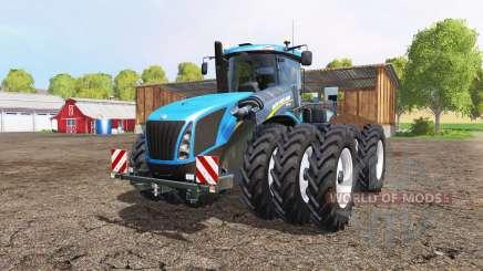 New Holland T9.565 triple wheels para Farming Simulator 2015