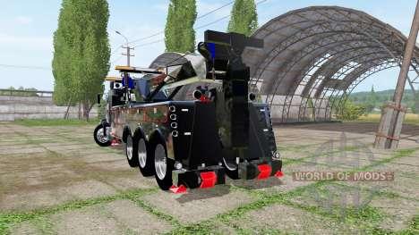 Western Star 4900 rotator heavy wrecker para Farming Simulator 2017