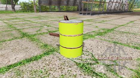 Barrel weight multicolor para Farming Simulator 2017