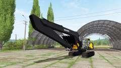 Volvo EC300E long arm para Farming Simulator 2017
