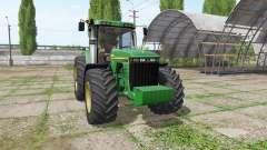 John Deere 8410 v3.3.6.9 para Farming Simulator 2017