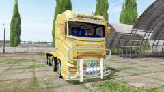 Scania R1000 container truck para Farming Simulator 2017