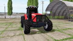 Massey Ferguson 7180 v2.0 para Farming Simulator 2017