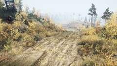 Estrada abandonada para MudRunner