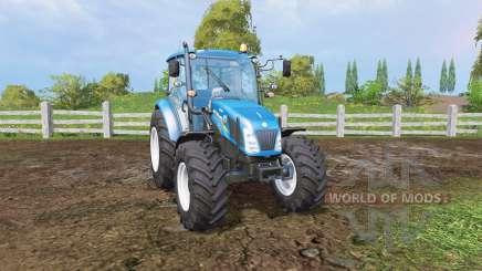 New Holland T4.115 front loader para Farming Simulator 2015