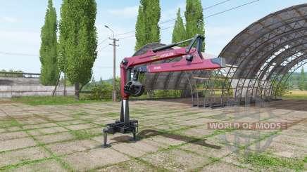Palfinger Epsilon M80F para Farming Simulator 2017