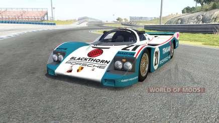 Porsche 962C para BeamNG Drive