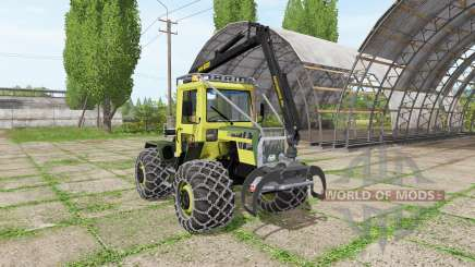Mercedes-Benz Trac 800 forest para Farming Simulator 2017