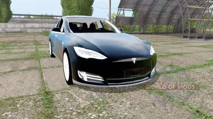 Tesla Model S 2017 para Farming Simulator 2017