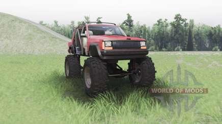 Jeep Cherokee (XJ) chopped para Spin Tires