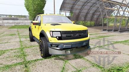 Ford F-150 SVT Raptor v2.0 para Farming Simulator 2017