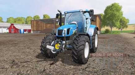 New Holland T6.160 front loader para Farming Simulator 2015