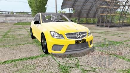 Mercedes-Benz C 63 AMG (W204) para Farming Simulator 2017
