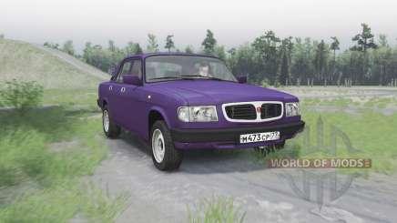 GAZ 3110 Volga para Spin Tires
