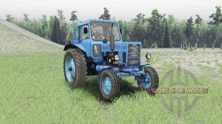 MTZ 80 Bielorrússia para Spin Tires