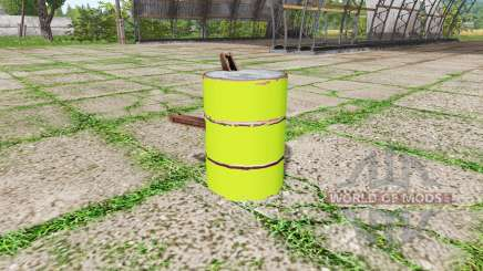 Barrel weight multicolor para Farming Simulator 2017