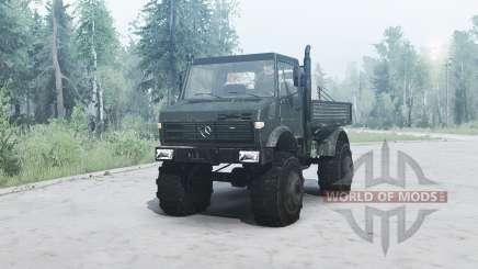 Mercedes-Benz Unimog U1650 para MudRunner