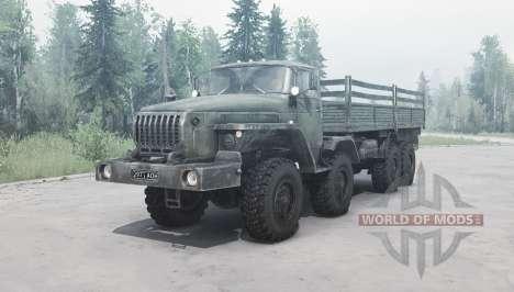 Ural 6614 v2.0 para Spintires MudRunner