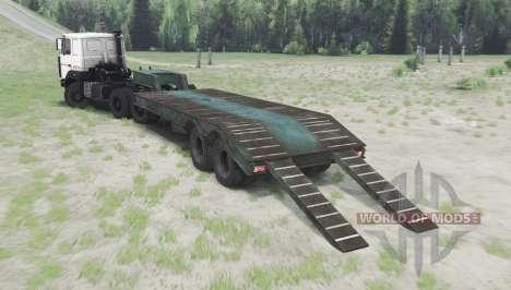 MAZ 64224 v1.2 para Spin Tires