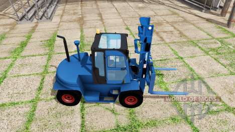 Clark C80D blue para Farming Simulator 2017