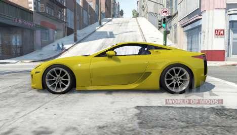 Lexus LFA para BeamNG Drive