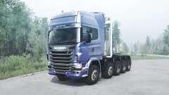 Scania R730 10x10 para MudRunner