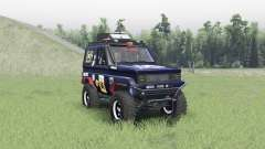 Toyota Land Cruiser 70 v1.1 para Spin Tires