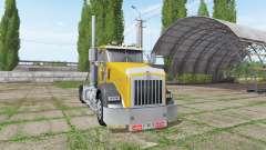 Kenworth T800 cat edition para Farming Simulator 2017