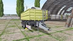 Fliegl TDK 160 para Farming Simulator 2017