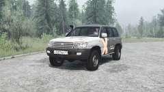 Toyota Land Cruiser 105 para MudRunner