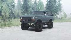 Ford Bronco Custom (U150) 1978 para MudRunner