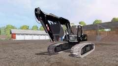 Liebherr A 900 C Litronic apache para Farming Simulator 2015