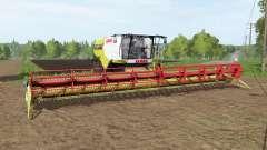 CLAAS Lexion 777 TerraTrac para Farming Simulator 2017
