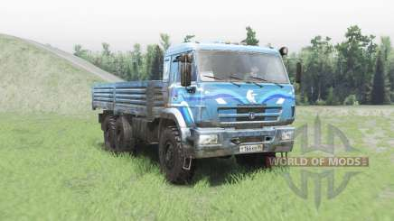 KAMAZ 43118 para Spin Tires