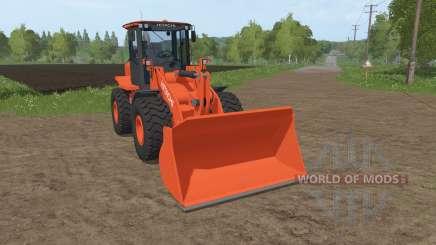 Hitachi ZW150-6 v1.1 para Farming Simulator 2017
