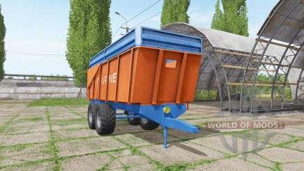 Corne trailer para Farming Simulator 2017