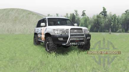 Toyota Land Cruiser 105 v4.1 para Spin Tires