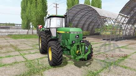 John Deere 4850 v3.0 para Farming Simulator 2017