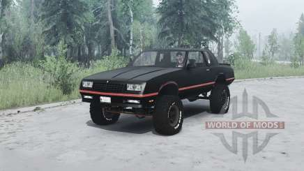 Chevrolet Monte Carlo SS 1986 para MudRunner