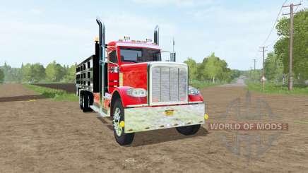 Peterbilt 388 stake bed para Farming Simulator 2017
